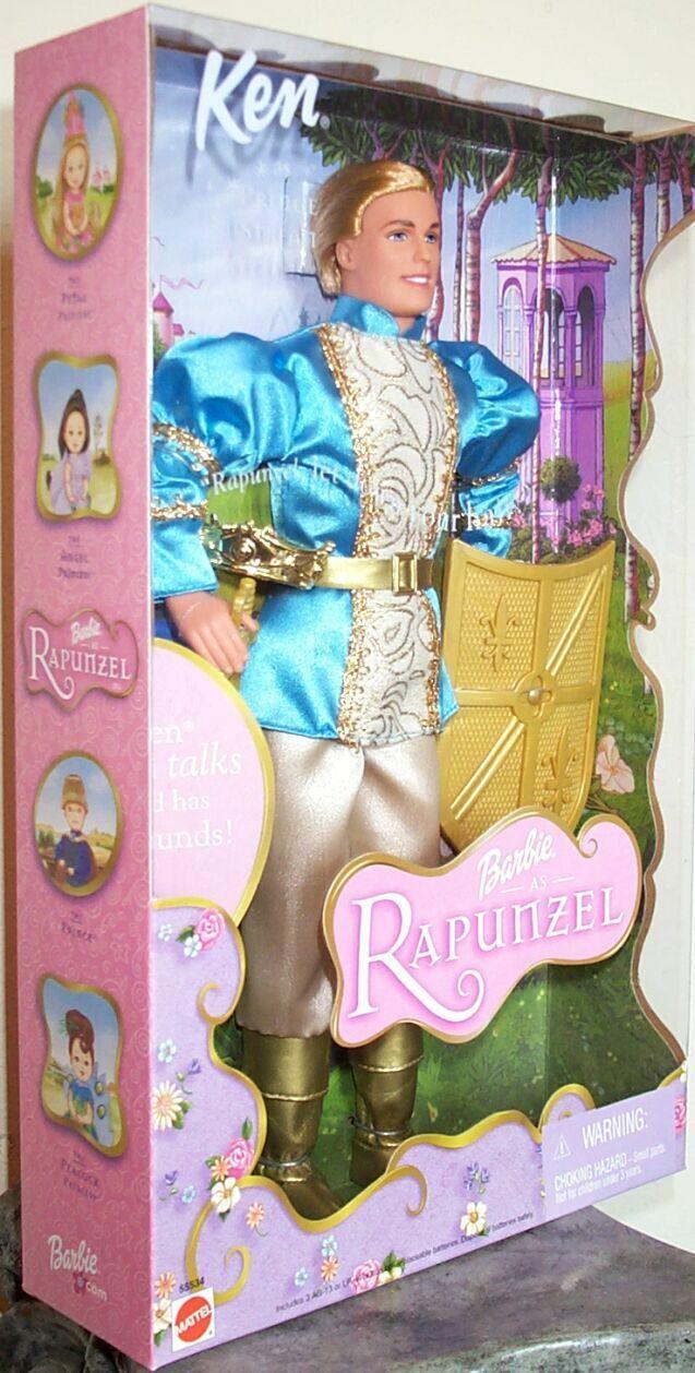 Barbie as Rapunzel Talking Ken as Prince Stefan