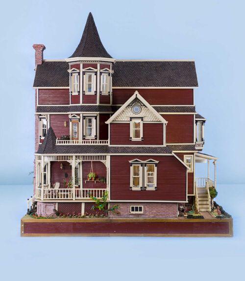 1759 best dollhouses artistic unique images on pinterest for Unique doll houses
