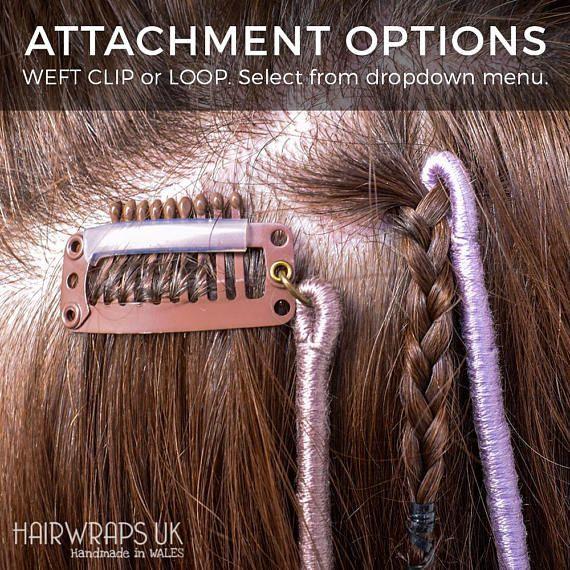 Clip-in Hair Wrap, abnehmbare Boho Hairwrap Haarsc…