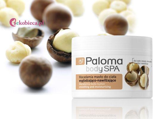 Masło do ciała wzbogacone o cenny olejek Macadamia, który wspaniale pielęgnuje, a także relaksuje i pozostawia na skórze słodki, zmysłowy zapach. http://www.ekobieca.pl/product-pol-4425-Paloma-Body-SPA-Macadamia-Maslo-do-ciala-.html