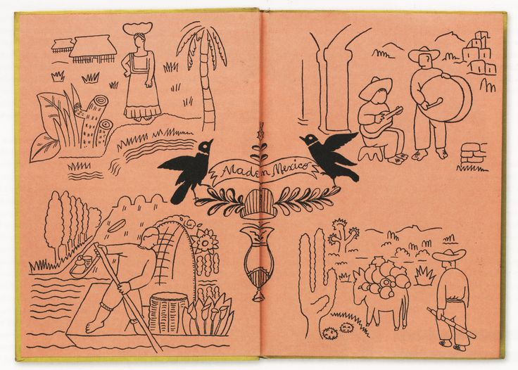 Mexico Illustrated: Made in Mexico, by Susan Smith. Illustrated by Julio Castellanos.