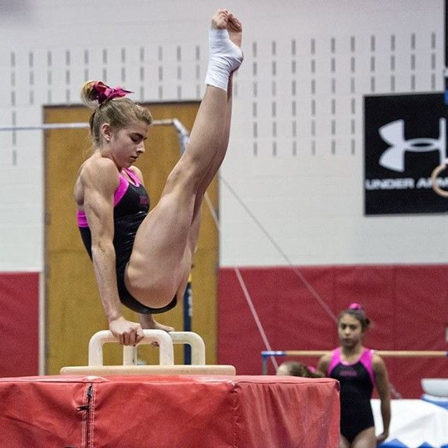 712 Best Gymnastics Images On Pinterest Gymnast Muscle