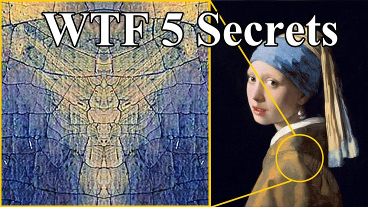 5 WTF Secrets of Girl With A Pearl Earring Painting.... | #Aliens #Paintings