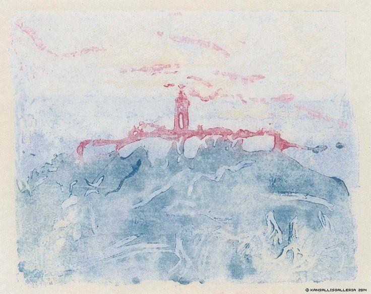 Ellen Thesleff, Certosa, 1915, väripuukaiverrus