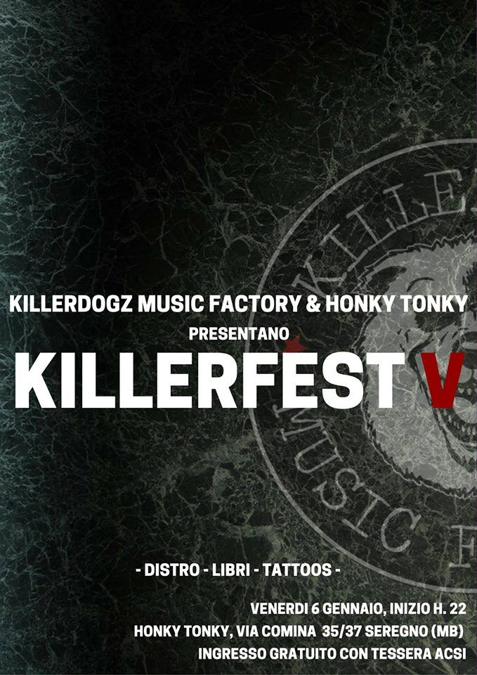 Mexican Standoff #Killerfest2017 #HonkyTonky #Seregno 6 gennaio 2017