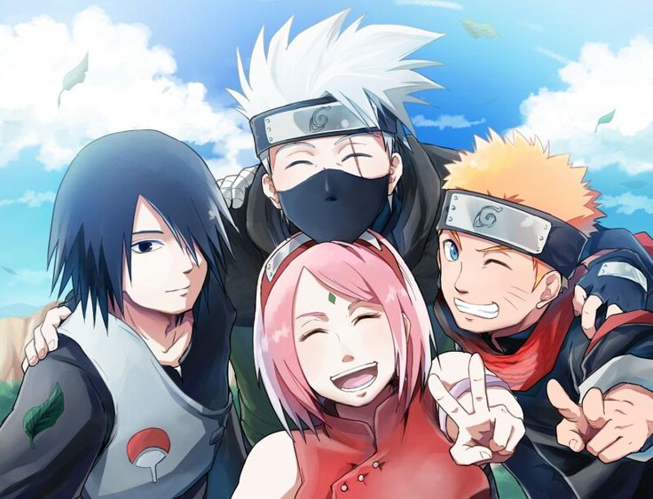 Team 7 older wiser stronger team 7 naruto for Wohnzimmertisch team 7