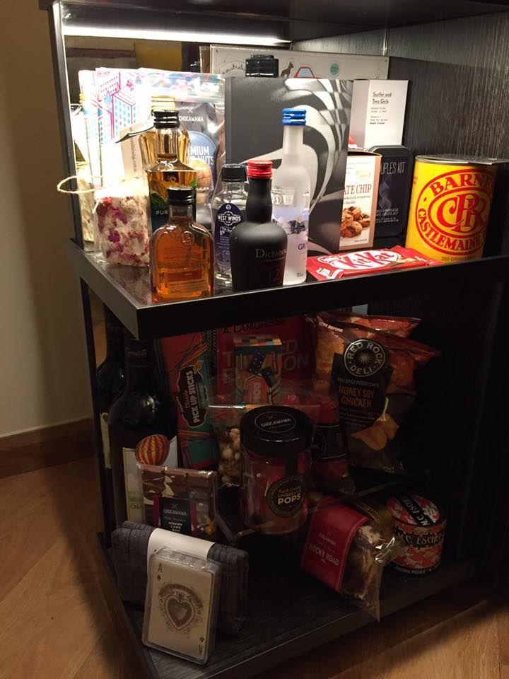 Hotel Room Mini Bar