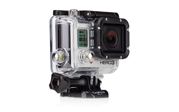 caméra HD GoPro HERO3 Black Edition Surf | #Wi-Fi + porte-clés | Boîtier étanche à 60 m | Fixations pour planches de #surf #waterproof #camera