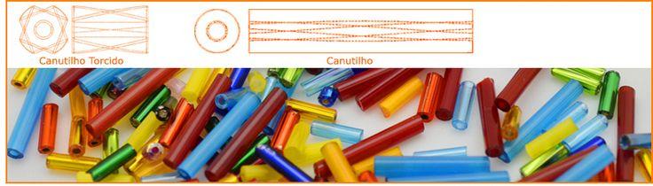 Canutilhos | Chiclete | Tubo | Bead Shop