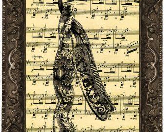 Vintage tienda tijeras antiguas partituras por LiberoAntiques