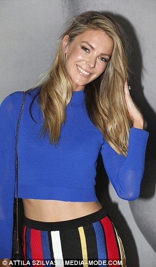 Bright!The Australia's Next Top Model judge was determined to stand out at the event as s...
