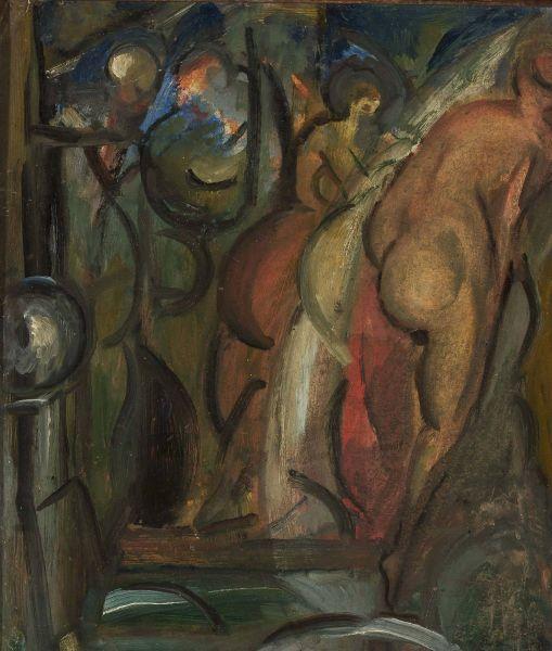 Kąpiące się - Leon Chwistek