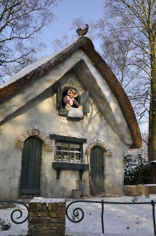 Vrouw Holle in de Winter Efteling.
