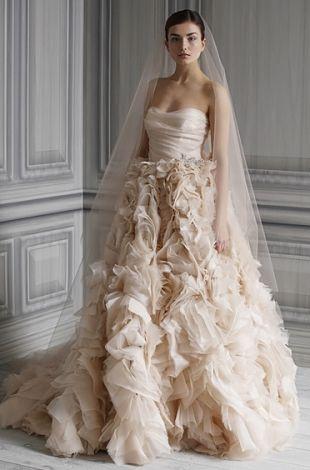 59 besten Monique Lhuillier Bilder auf Pinterest | Hochzeitskleider ...
