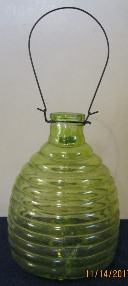 """The catcher is 7 1/2"""" tall (not including handle) and 6"""" wide at base.   eBay!"""