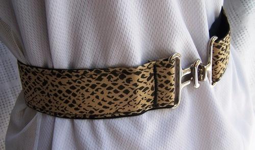 Cheetah Ribbon Belt, $25.00