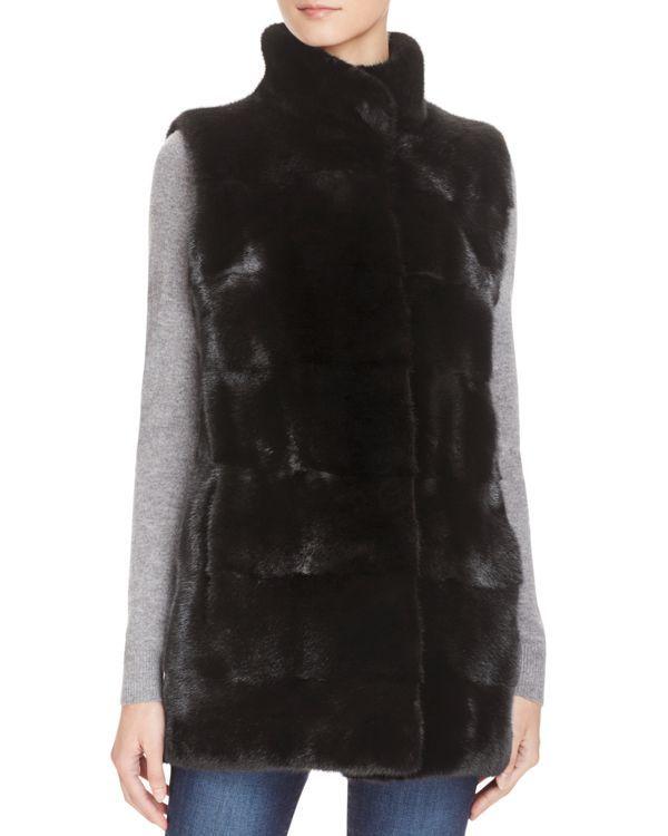 Maximilian Furs Mink Fur Vest - Bloomingdale's Exclusive