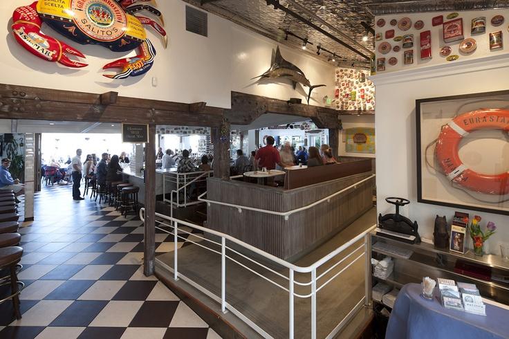 The large Salito's Crab.  Salito's Crab House & Prime Rib  1200 Bridgeway, Sausalito, CA  415.331.3226