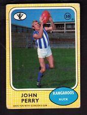 1972 SCANLENS CARD  JOHN PERRY - KANGAROOS
