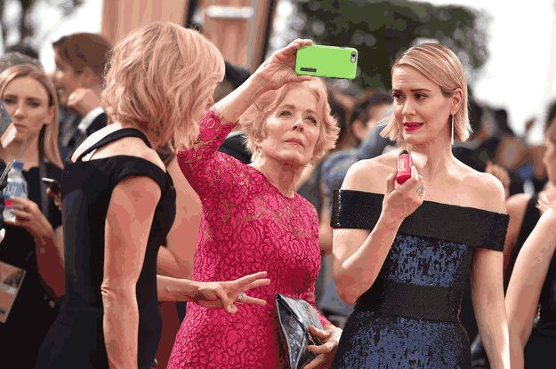 This is possibly the most amazing news. Ever. | Sarah Paulson And Holland Taylor Are Dating And It's Everything