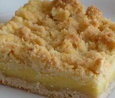 Pudding-Streuselkuchen vom Blech