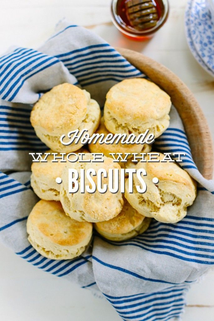 Homemade whole wheat biscuits. Best biscuits I've ever made. So buttery and made with whole wheat flour.