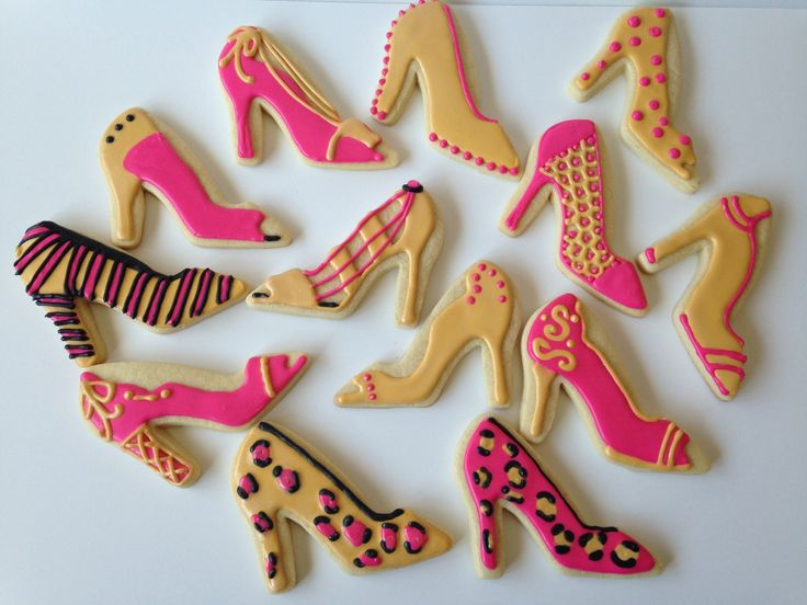 Handmade High Heel Sugar Cookies