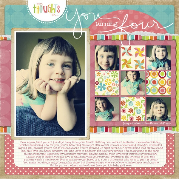 love layouts with multiple pics (and stories)
