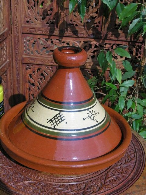 Large Moroccan traditional tagine. http://www.maroque.co.uk/showitem.aspx?id=ENT06356&p=01570&n=all