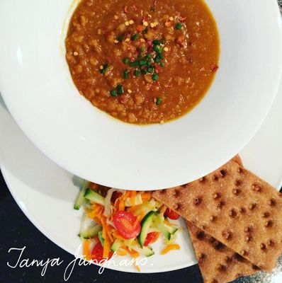 Easy Yellow Lentil Soup Recipe