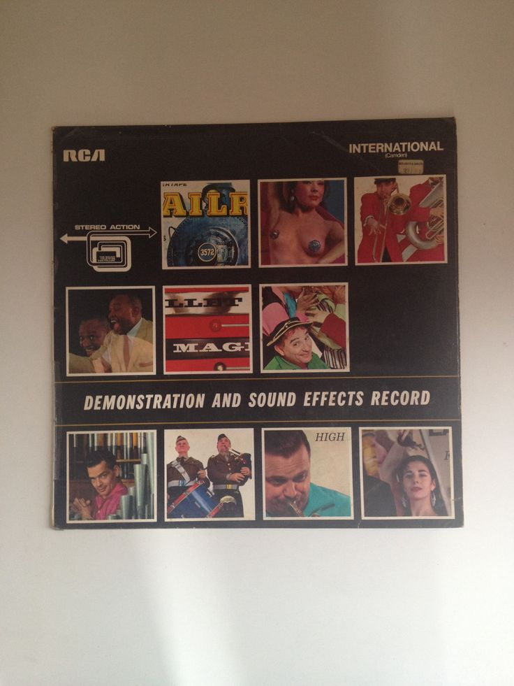 Demonstration and Sound Effects Record, featuring such delights as Fire! (a fire engine leaving the station), Timber! (fairly self-explanatory) and my favourite Hell Drivers, the sound of a stunt driver making a 50-ft jump and the excited arena commentary from 'Ace commentator Bob Conto'.