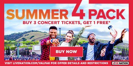 B3G1 FREE Concert Tickets + Enter to Win Concert Cash from ValPak!  #SummerPak