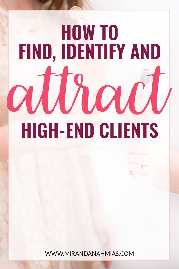 Want to learn exactly how to find, identify, and attract high-end clients? I cover the full high-end client onboarding process in my new blog post. // Miranda Nahmias & Co. Digital Marketing + Virtual Assistance
