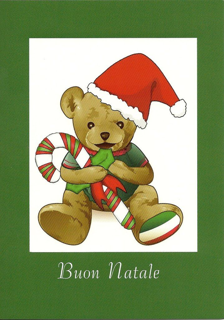 Who's best at wishing your little one a Merry Christmas?  Giovanni the Bear! 5 x 7 Blank inside. $4.95 each  (This is a specialty card) Printed in the USA
