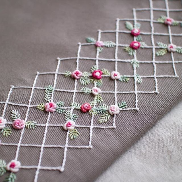 Beautiful hand embroidery…