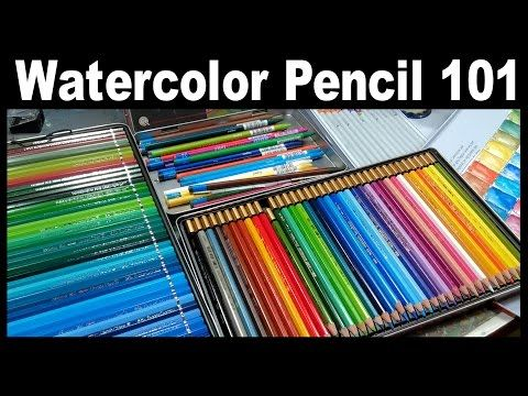 LIVE! Watercolor Pencil 101 // 12:30pm ET Today!. Link download: http://www.getlinkyoutube.com/watch?v=W-MI67VjlqY