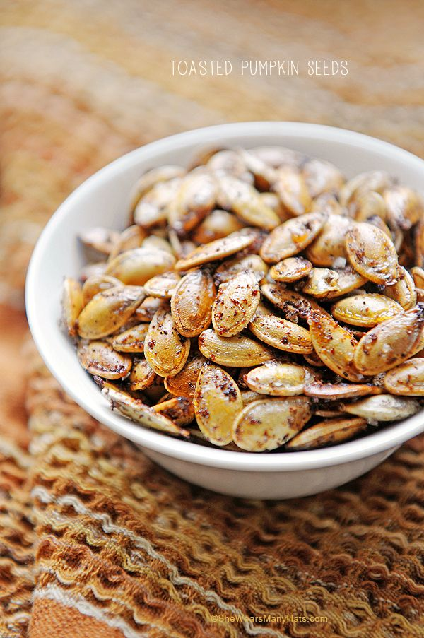 Toasted Pumpkin Seeds | 17 Power Snacks For Studying