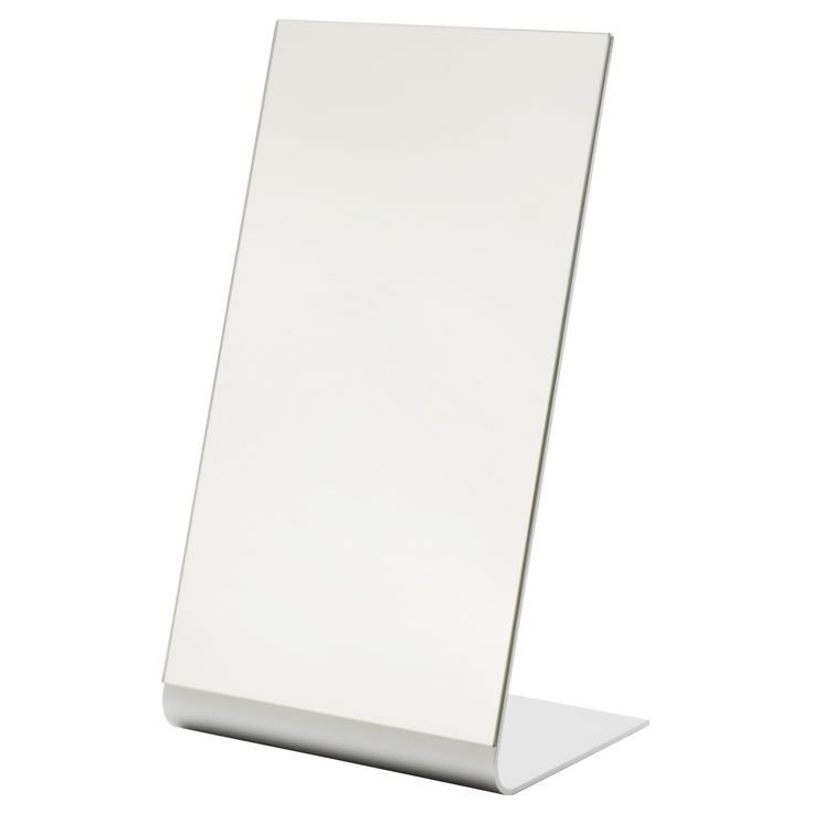 TYSNES Table mirror - IKEA - $15 Perfect for a girls' night - hair, make-up, drinks...