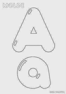 alfabeto letras balao