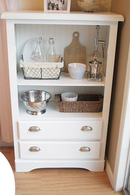 Old dresser redo... - Click image to find more diy & crafts Pinterest pins