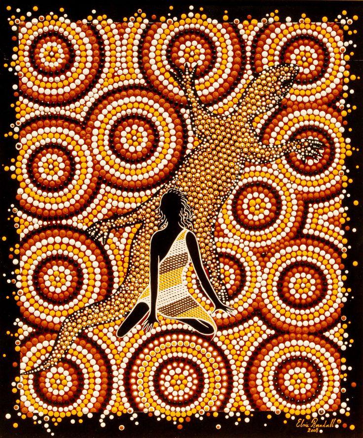 Elsie randall a talented aboriginal artisit indigenous art