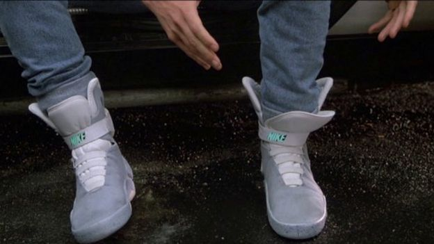 Marty McFly's power laces are actually arriving in 2015, Nike designer says   You may not get a hoverboard in 2015, Nike is bringing Marty's self-lacing sneakers to commemorate BttF Pt.II. Buying advice from the leading technology site