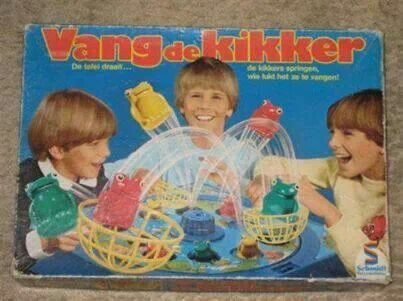 Spellen van Vroeger - Vang de kikker