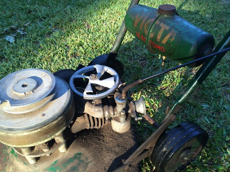 Seasick Steve Air Cleaner : Best vintage australian made lawn mowers and it s