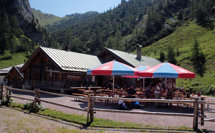 Bergtour Hohes Brett über Brettgabel mit Abstieg zur Mitterkaseralm - Berchtesgadener Land Blog