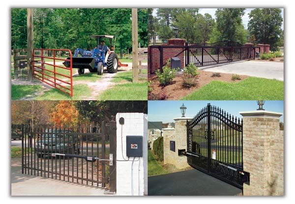 144 best images about driveway entries on pinterest for Motorized gates for driveways