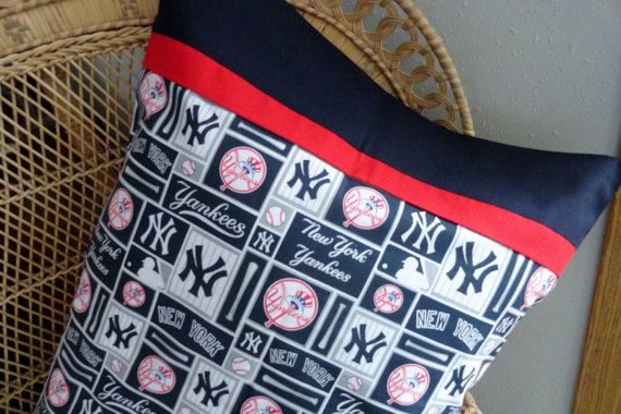 New York Yankees Pillowcase/Sham New York by BrakesForFabric