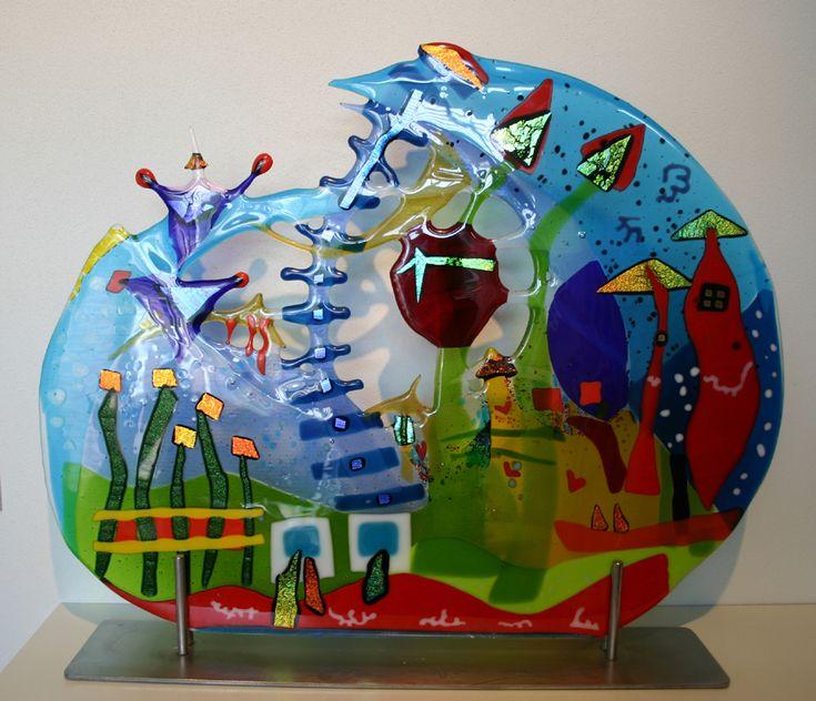 65 b sta bilderna om glasfusing p pinterest skulptur vallmor och f rgat glas. Black Bedroom Furniture Sets. Home Design Ideas