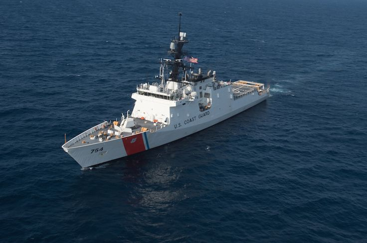 US Coast Guard will officially debut its newest National Security Cutter (NSC), Coast Guard Cutter James (WMSL 754) during ceremony, August 8th at Coast Guard Base Boston.Coast Guard's latest 418-foot National Security Cutter, James (WSML 754), 5th of 8 planned National Security Cutters – largest and most technologically advanced class of cutters in Coast Guard's fleet. Cutters' design provides better sea-keeping, higher sustained transit speeds, greater endurance and range.