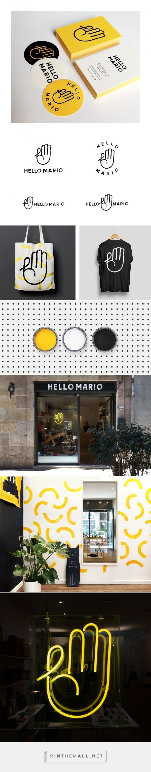 Hello Mario Branding by Min | Fivestar Branding Agency – Design and Branding Agency & Curated Inspiration Gallery